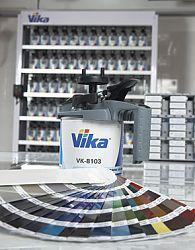 Купить Изготовление краски по рецепту в миксерной системе Vika® (Русские краски) - Vait.ua