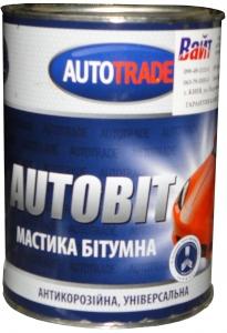 """Купить Мастика битумная антикоррозионная """"Автотрейд"""", 1л - Vait.ua"""