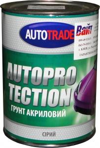 """Купить Грунт акриловый AUTOPROTECTION """"Автотрейд"""" серый, 1л - Vait.ua"""