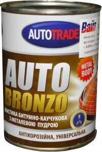 """Купить Мастика битумно-каучуковая с металлической пудрой (бронза) антикоррозионная """"Автотрейд"""", 1л - Vait.ua"""