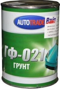 """Купить Грунт ГФ-021 """"Автотрейд"""" красно-коричневый, 1л - Vait.ua"""