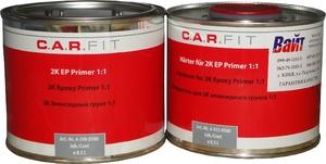 Купить Эпоксидный грунт CARFIT (0,5л) + отвердитель (0,5л), 1:1 - Vait.ua