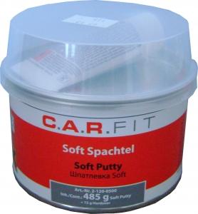 Купить Шпатлёвка полиэфирная универсальная CAR FIT Soft, 0,5 кг - Vait.ua