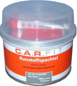 Купить Шпатлевка по пластику CARFIT 0,5кг + шпатель - Vait.ua