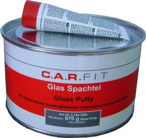 Купить Шпатлёвка 2К полиэфирная со стекловолокном CAR FIT GLASS, 1 кг - Vait.ua