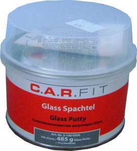 Купить Шпатлёвка 2К полиэфирная со стекловолокном CAR FIT GLASS, 0,5 кг - Vait.ua