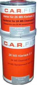 Купить 2К MS прозрачный акриловый лак (1л) + отвердитель (0,5л) - Vait.ua