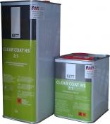 2К акрил-уретановый лак KITT Clear Coat HS (5л) + отвердитель (2,5л)
