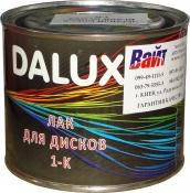 Однокомпонентный лак для дисков Dalux (ЧЕРНЫЙ БЛЕСК) Black Gloss, 0,5л