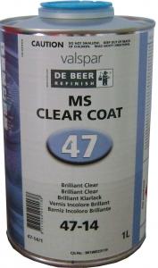 Купить Лак акриловый MS De Beer Brilliant с УФ фильтром в комплекте с активатором, 1л + 0,5л - Vait.ua