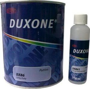 Купить Шпатлёвка жидкая 1л Duxone® в комплекте с активатором DX861 - Vait.ua