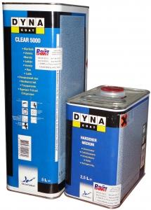 Купить Лак акриловый DYNACOAT CLEAR 5000 HS (5л) + отвердитель (2,5л) - Vait.ua