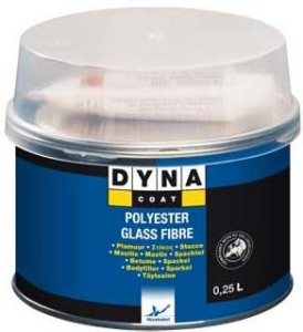 Купить Шпатлёвка со стекловолокном DYNA Glass Fibre Putty, 0,25л - Vait.ua