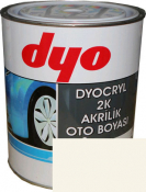 """TOYOTA 040 Акриловая 2К автоэмаль DYO """"Super White"""" в комплекте с отвердителем"""