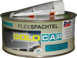 Купить Шпатлевка по пластику FLEX Gold Car, 1,0 кг - Vait.ua