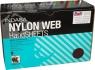 Скотч-брайт Nylon Web Indasa (коричневый), 230мм х 155мм х 6мм