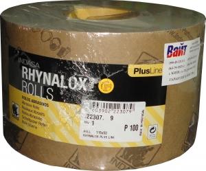 Купить Абразивная бумага в рулоне на латексной основе INDASA RHYNALOX PLUS LINE (Плюс линия), 115мм x 50м, P100 - Vait.ua
