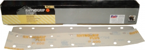 Купить Абразивная полоса INDASA RHYNOGRIP PLUS LINE STRIP на 14 отверстий, 70мм х 420мм, Р400 - Vait.ua