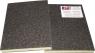 Двухсторонний абразивный блок INDASA Abrasive Sponge Wood, 98х122х13мм, Р180