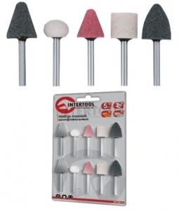 Купить Набор шлифовальных камней INTERTOOL BT-0015 (5 шт) - Vait.ua