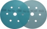 Круг матирующий KOVAX SUPER ASSILEX SKY (голубой), D152mm, 7 отверстий, P500