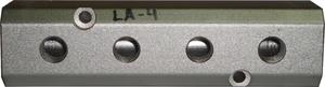 """Купить LA-4 SUMAKE 3/8""""(h10) Разветвитель для пневмосистемы (4 отв.) - Vait.ua"""