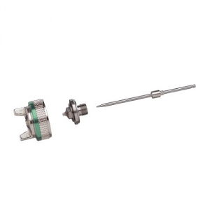 Купить Ремкомплект для краскопульта SATA minijet 3000 B HVLP дюза 1,0 (дюза, игла и воздушная голова) - Vait.ua