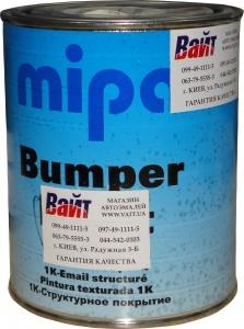 Купить Однокомпонентная структурная бамперная краска MIPA Bumper color черная, 1л - Vait.ua