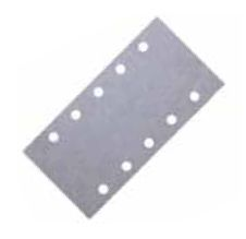 Купить Абразивный лист Mirka Q.Silver на бумажной основе на липучке, 115x230мм, P120 - Vait.ua