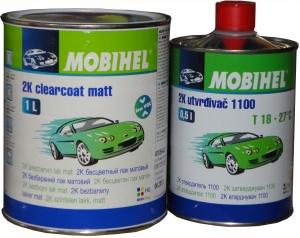 Купить 2К Акриловый матовый лак Mobihel (1л) + отвердитель 1100 (0,5л) - Vait.ua
