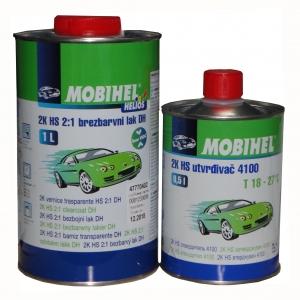 Купить 2К HS Акриловый лак Mobihel 2:1 DH low VOC (1л) + отвердитель 4100 (0,5л) - Vait.ua