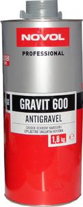 Купить 37814 Антигравийное покрытие MS - Novol GRAVIT 600 серое, 1,8кг - Vait.ua