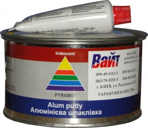 Купить Шпатлёвка с алюминием Pyramid STANDART ALUM PUTTY, 0,45 кг - Vait.ua