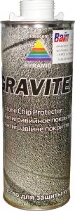 Купить Антигравийное текстурное покрытие PYRAMID GRAVITEX 1л, белое - Vait.ua