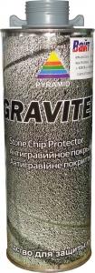 Купить Антигравийное текстурное покрытие PYRAMID GRAVITEX 1л, серое - Vait.ua