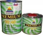 2К акриловый лак 30:40 Pyramid PREMIUM MS (1л) + отвердитель (0,5л)