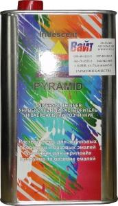 Купить Растворитель универсальный PYRAMID UNIVERSAL THINNER для акриловых и базовых продуктов (метал. банка), 1 л  - Vait.ua
