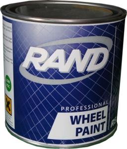Купить Краска алкидная RAND 810 серебристая для дисков, 0,75л - Vait.ua
