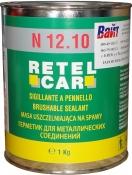 Герметик кистевой Retel Car, 1кг, серый