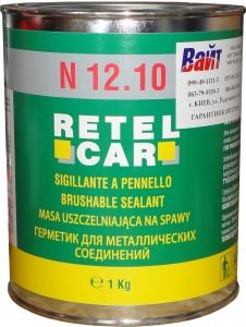 Купить Герметик кистевой Retel Car, 1кг, серый - Vait.ua