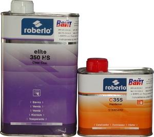 Купить Акрил-полиуретановый лак Roberlo ELITE 350HS (1л) + отвердитель C355 (0,5л) - Vait.ua