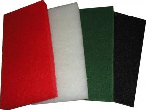 Купить Скотч-брайт MKV для матования поверхности в листах (черный), 250х120х20мм (К80) - Vait.ua