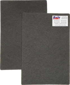 Купить Cкотч-брайт SMIRDEX (серия 925) S / Ultra Fine 150 мм х 230 мм (зерно Р600), темно-серый - Vait.ua