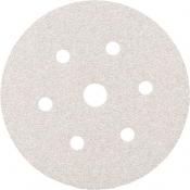 Абразивный диск для сухой шлифовки SMIRDEX White Dry (серия 510), диаметр 150 мм, Р80