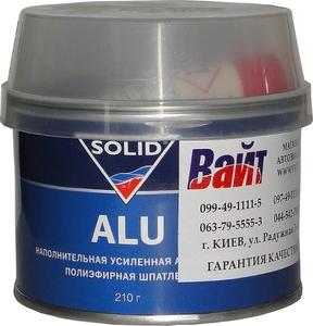 Купить Шпатлевка Solid ALU с алюминиевым наполнителем, 0,21 кг - Vait.ua