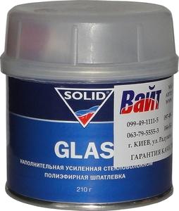 Купить Шпатлёвка усиленная стекловолокном SOLID GLASS, 0,21 кг - Vait.ua