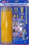 PAK-02 Пневмошланг спиральный полиуретановый SUMAKE с переходниками (16 ед.)