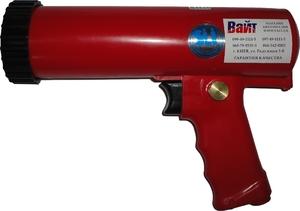 Купить ST-6641 Пневматический пистолет-выжиматель для герметиков SUMAKE в пластиковом корпусе, 310мл - Vait.ua