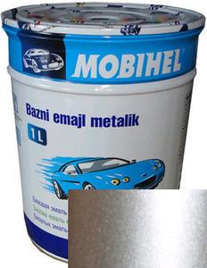 """Купить Toyota 1C0 Автоэмаль базовая """"металлик"""" Helios Mobihel """"Toyota 1C0 Silver Metallic"""", 1л - Vait.ua"""