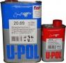 S2089/1 Акриловый лак Spot/Panel Clear HS 4:1 U-POL с ускоренным временем сушки (4-6 часов) 1л + отвердитель 2032/SM 0,25л
